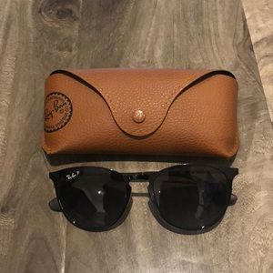 Ray Ban Polarized Black Glasses